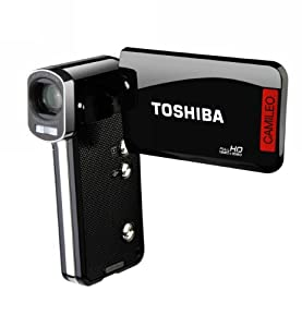 Toshiba Camileo P100 HD Camcorder with 5x Optical Zoom and 3-Inch LCD Screen (Black)