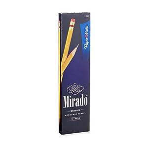 Paper Mate Mirado Classic Medium Soft Lead Pencils, 12 #2 Pencils