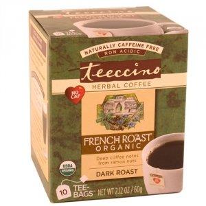 Teeccino Herbal Coffee Herbal Coffee Tee-Bags French Roast 10 Bags