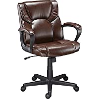 Staples Montessa II Luxura Managers Chair (Brown)