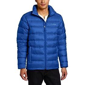 (顶级)Marmot Men's Zeus Jacket 土拨鼠男士宙斯800鹅绒填充排骨羽绒服深蓝$128.98