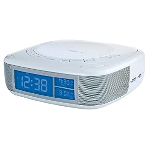 clock radio with cd player mp3 players accessories. Black Bedroom Furniture Sets. Home Design Ideas
