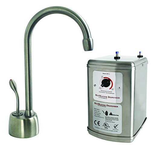 Westbrass D271-NL-07 Brushed Nickel Lead Free Instant Hot Water Dispenser