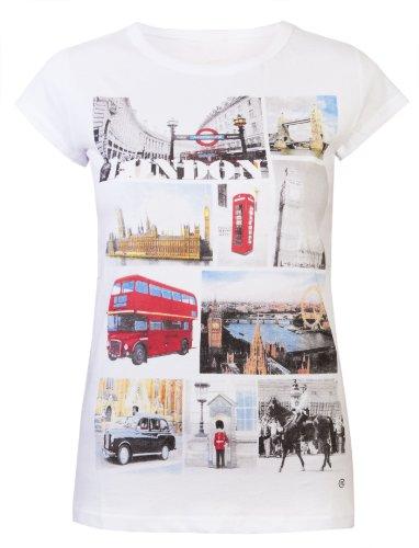 Love Lola -  T-shirt - Maniche corte - Donna bianco XX-Small