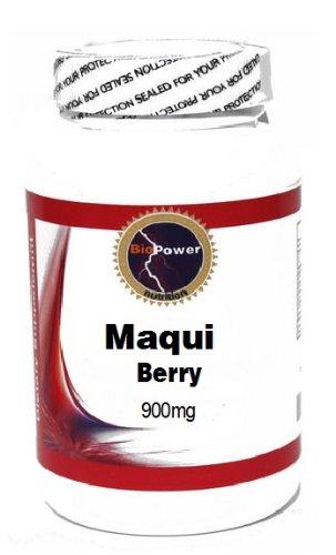 Maqui Berry 900mg 90 Capsules # BioPower Nutrition
