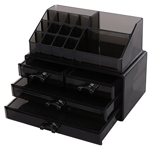 Cosmetic Makeup Organizer Jewelry Display Box Storage