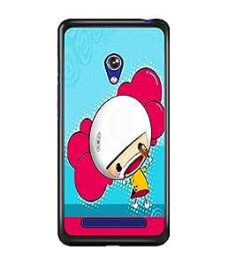 PRINTSWAG CARTOON GIRL Designer Back Cover Case for ASUS ZENFONE 5 A501CG