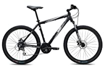SE Bikes Adventure 24-Speed D Hard Tail Mountain Bicycle, 19-Inch, Matte Black
