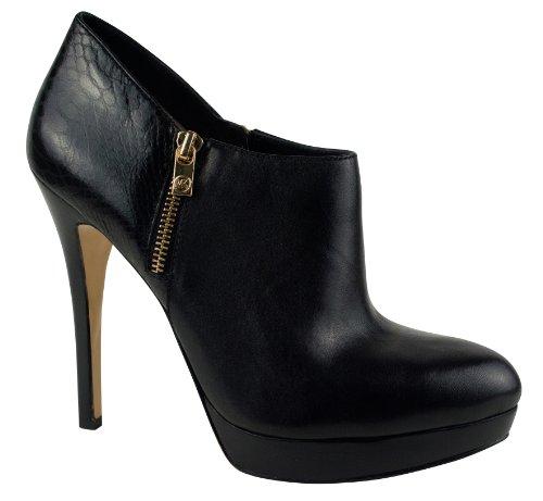 Michael Michael Kors Women'S York Bootie (Black/Black Croco 9.5 M)