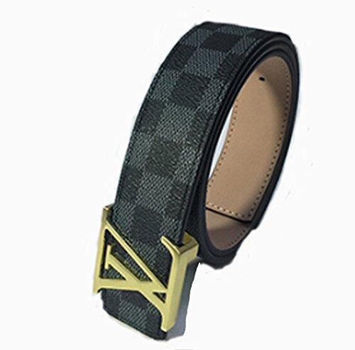 scorpion-1pcs-men-faux-leather-belt-unsex-cloth-accessory-120cm-blackgold