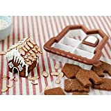 Sweet Creations 3D Mini Gingerbread House Cookie Cutter Kit