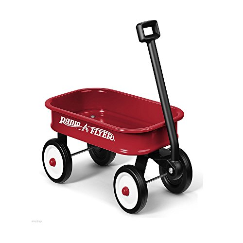 Radio Flyer Little Red Toy Wagon. Kids Gift Present Boy Girl Fun Steel Hauling (Mini Red Wagon Radio Flyer compare prices)