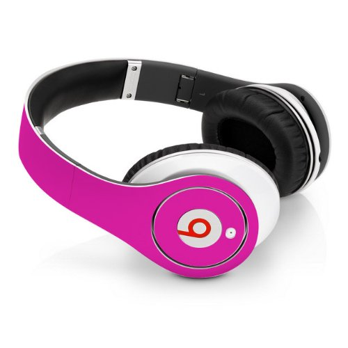 Beats Studio Full Headphone Wrap In Hot Pink (Headphones Not Included)