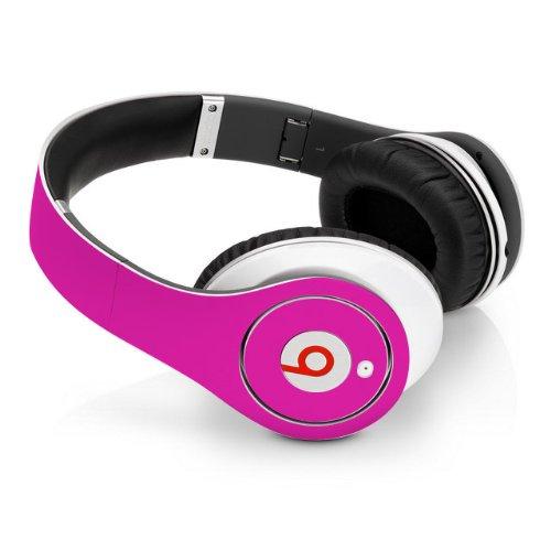 Beats Studio Full Headphone Wrap In Hot Pink (Headphones Not Included)