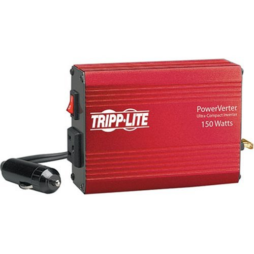 Tripp Lite PV150 Portable Auto Inverter 150W 12V DC to AC 120V 5-15R 1 Outlet
