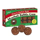 Accoutrements Meatball Shaped Bubble Gumballs 21 pieces