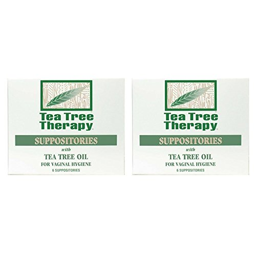 Tea Tree Therapy Suppositories with Tea Tree Oil