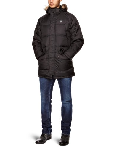 Timberland Reedville Down Parka Men's Coat Black Small