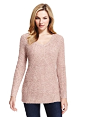 M&S Collection Ribbed Jumper