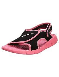 Nike Black Sunray Sport Sandals - Grade School Girls