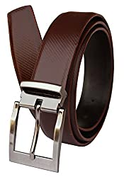 Discover Fashion Men's Leather Brown Belt (BL-CE-12)