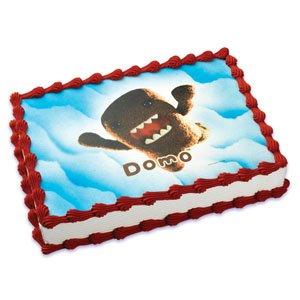 Anime Domo Edible Cake Image Topper (Domo Party Supplies compare prices)