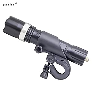 Reefeel 300m Flashlight CREE Q5XPE LED Torch Rechargeable Lamp Battery(Not include battery) from Focusled