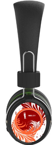 Genoa Wireless Bluetooth Headphone For Fm Radio, Mp3, And Hands-Free Calling - Black & Orange