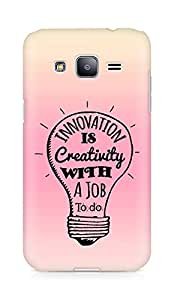 Amez Innovation is Creativity with a Job to do Back Cover For Samsung Galaxy J2