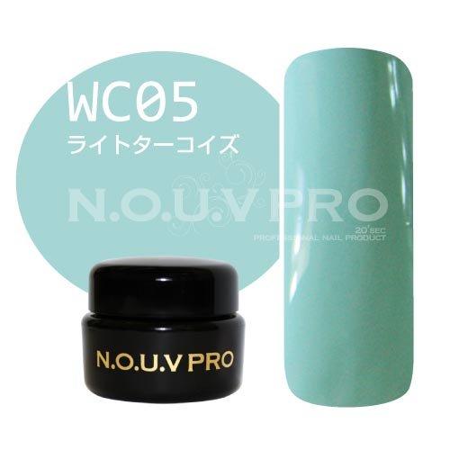 NOUV PRO カラージェル ライトターコイズ WC05