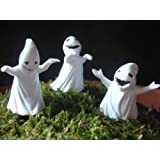 "Fiddlehead Fairy Garden ""Set of 3 Ghosts c/w Picks"" Limited Edition"