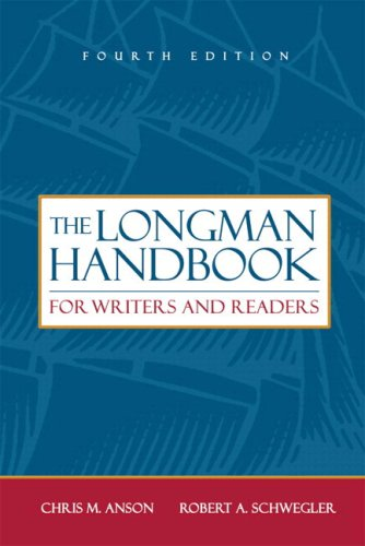 Longman Handbook for Writers and Readers (with MyCompLab), The (4th Edition)