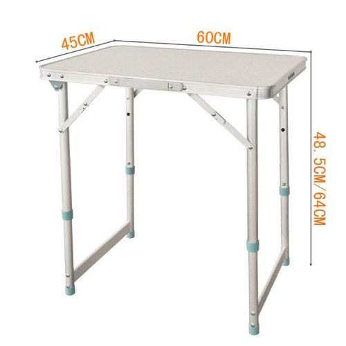 Boutique randonn e et camping table pliable et r glable for Hauteur table de jardin