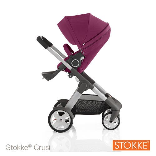 Stokke Crusi Stroller Purple front-824679