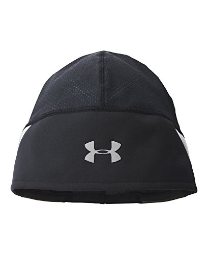 4be56418a6f ... low cost under armour mens ua coldgear armourvent run beanie one size  fits all black 9f29a