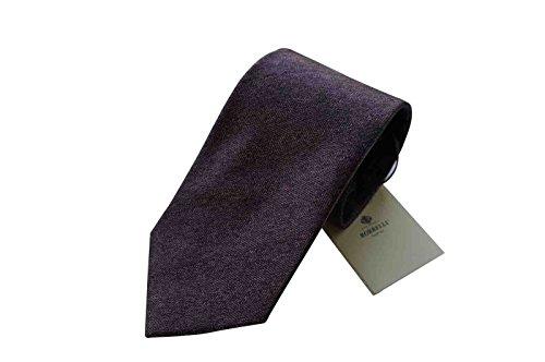 luigi-borrelli-napoli-italy-mens-tie-luxury-dark-purple-stripe-100-silk