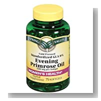 Spring Valley - Evening Primrose Oil 1000 mg, 75 Softgels