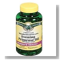 Spring Valley - Evening Primrose Oil 1000 mg, 75 Softgels