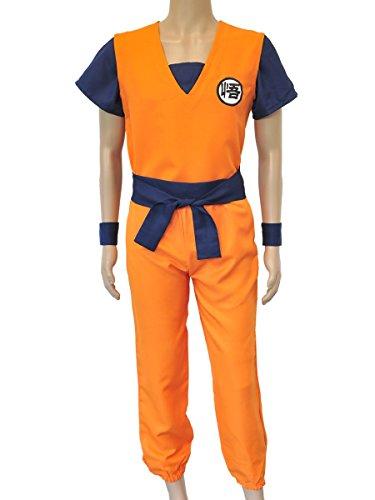 CoolChange travestimento cosplay di Son Goku della serie Dragon Ball. Misura: M