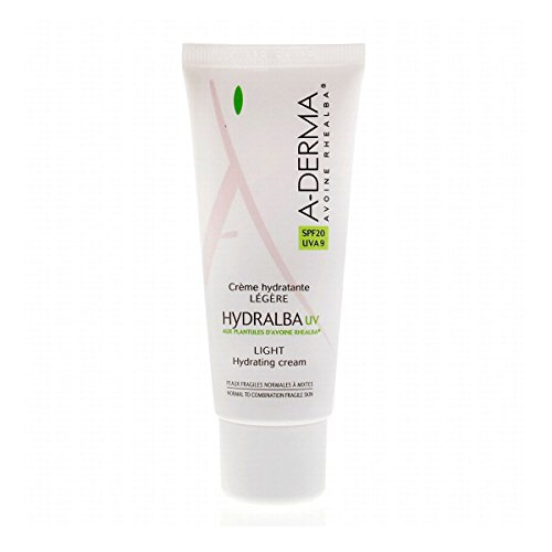 A-Derma Hydralba Light Hydrating Cream UV SPF20 40ml