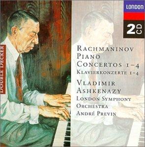 Rachmaninov Piano Concertos Nos 1-4 from Decca (UMO)