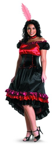 Disguise Women's My Can-Can Cutie Women Plus Size Costume