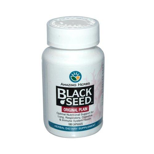 Amazing Herbs Black Seed - 100 Capsules