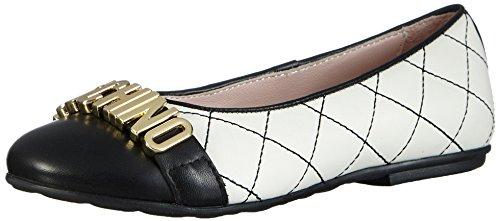 Moschino25850.0 - Ballerine Bambina , Bianco (Bianco (Weiss)), 34
