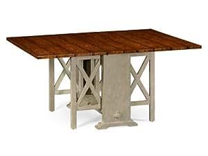 Country Farmhouse Walnut 48 X 16 Rectangular Dining Table Tables