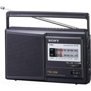 SONY FM/AMポータブルラジオ ICF-29