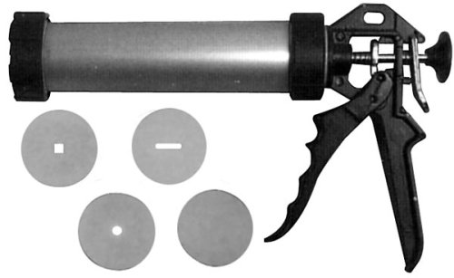 Clay Extrusion Gun For Forming Small Clay Shapes Holds Over 1-1/2 Lbs. Of Clay