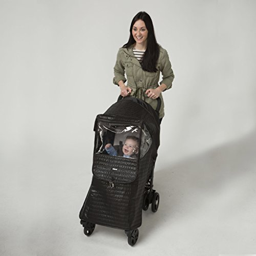 Chicco Childrens Baby Quilted Stroller Weather Shield Rain Cover