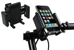 Soporte universal para manillar de bici para Iphone 4 4S 5 ipod ajustable