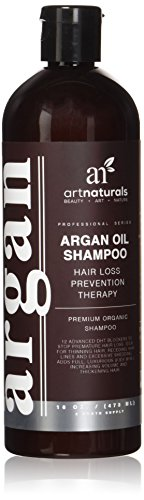art naturals organisches argan l shampoo gegen haarausfall. Black Bedroom Furniture Sets. Home Design Ideas